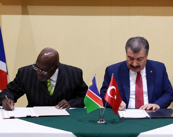 Türkiye-Namibya KTEK 1. Dönem Toplantısı