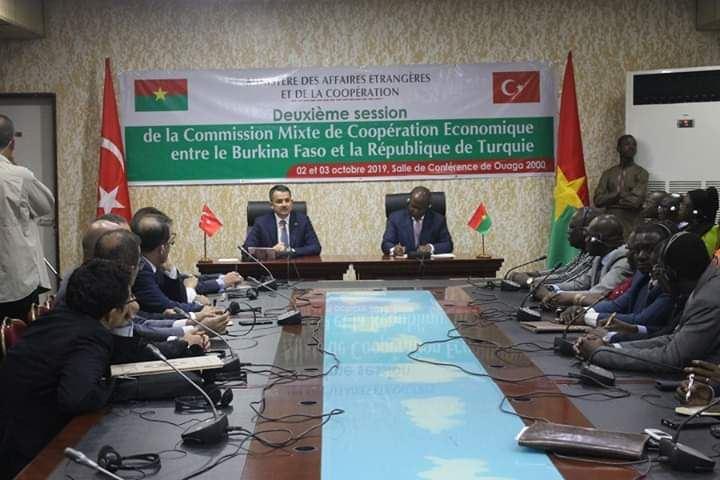Türkiye-Burkina Faso KEK 2. Dönem Toplantısı