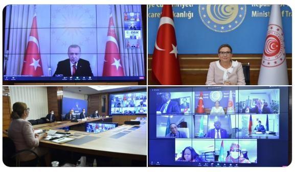Çevrimiçi Türkiye - Afrika Ekonomi ve İş Forumu Gerçekleştirildi
